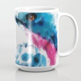 Eastern Blue Bird - watercolors (signed) Coffee Mug