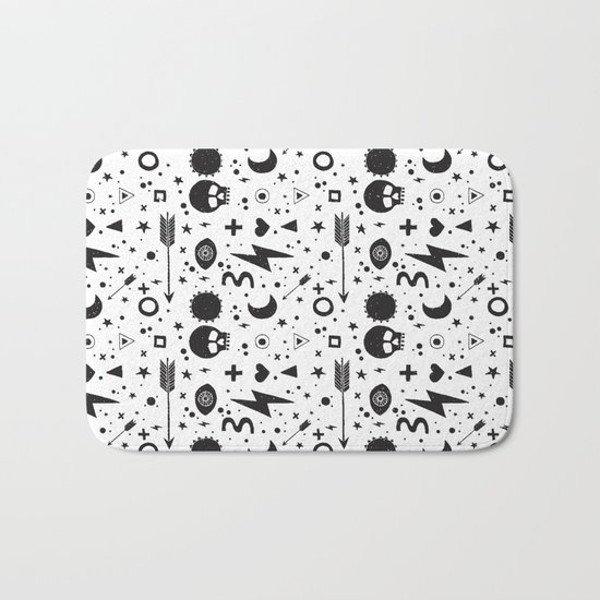 Weapons of weariness Bath Mat