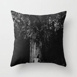 growing stronger Throw Pillow