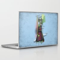 melbourne Laptop & iPad Skins featuring Melbourne by Mel Muraca