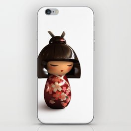 Kokeshi 02 iPhone Skin