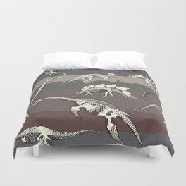 Dinosaur's Dig Duvet Cover