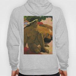 "Paul Gauguin ""Aha Oe Feii? (Eh quoi! Tu es jaloux?)"" Hoody"