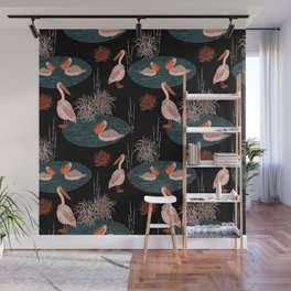 BIRDS IN PARADISE Wall Mural