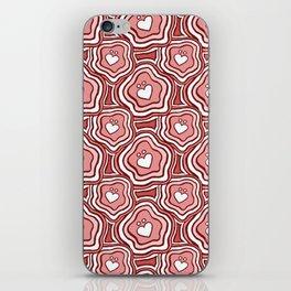 'I Love You Umlaut' Valentine's Pattern - Pretty in Pink iPhone Skin