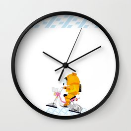 go for a ride Wall Clock