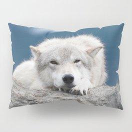 Sleepy Wolf Pillow Sham