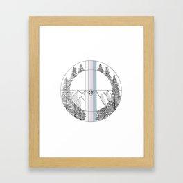 Colorado Geometric Art Framed Art Print
