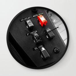 Ferrari LeMans Cockpit  Wall Clock