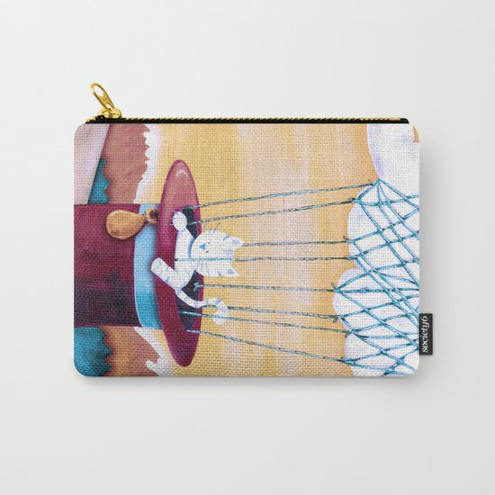 The cat traveling in dreams Carry-All Pouch