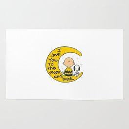 Snoopy Moon Rug