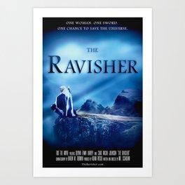The Ravisher movie poster by Lacy Lambert Art Print