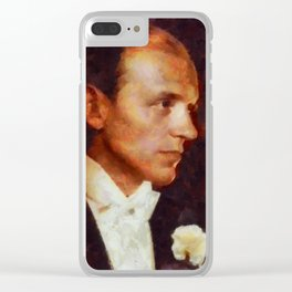 Fred Astaire, Vintage Hollywood Legend Clear iPhone Case