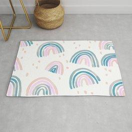 Rainbow Chroma Pastel Rug