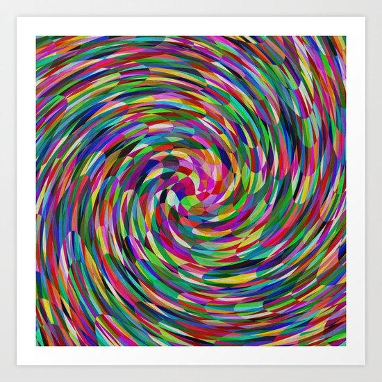 Dizzy Whizzy Art Print