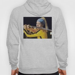 "Vermeer's ""Girl with a Pearl Earring"" & Kill Bill Hoody"