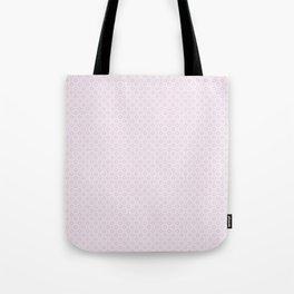 Plum Flower Pattern Tote Bag