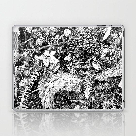 Inky Undergrowth Laptop & iPad Skin