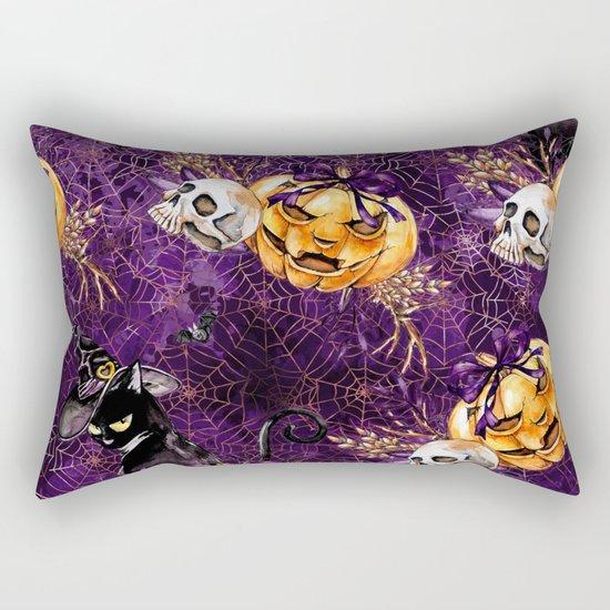 Halloween Witch #3 Rectangular Pillow