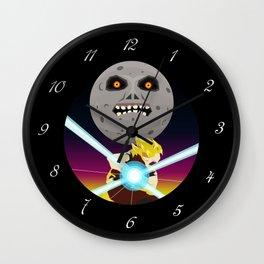 Goku VS Moon Wall Clock