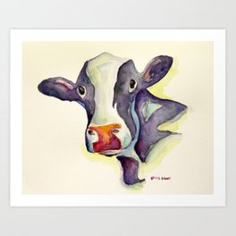 The Cow Art Print