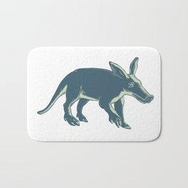 Aardvark Scratchboard Style Bath Mat