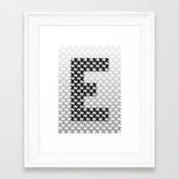 escher Framed Art Prints featuring Escher mood by Nik Russo