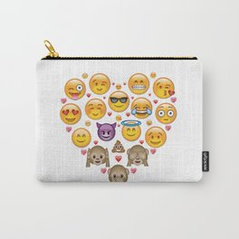 Happy Heart Carry-All Pouch