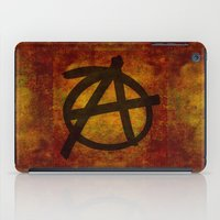 sons of anarchy iPad Cases featuring Anarchy by BruceStanfieldArtist.DarkSide