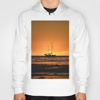 sailboat Hoodies featuring Sailboat  by GG's photography.