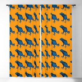 Blue Frog Blackout Curtain