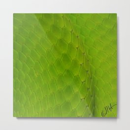 Green Mamba Metal Print