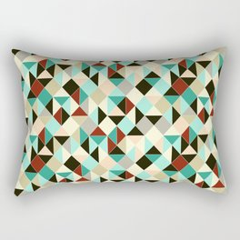 Harlequin tile Rectangular Pillow