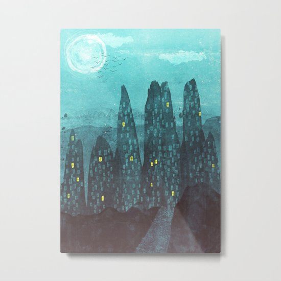 To The City Metal Print