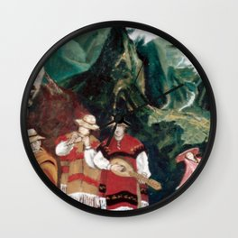 The ANDES             by Kay Lipton Wall Clock