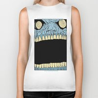 mouth Biker Tanks featuring Mouth by Hobo&Arrow