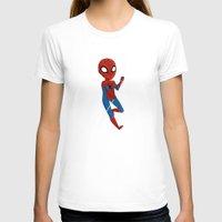 spider man T-shirts featuring Spider-Man by Nozubozu