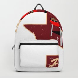 BBQ Barbecue Texas  Design Backpack