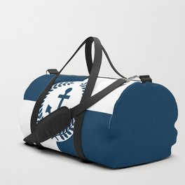 Nautical themed design 2 Duffle Bag