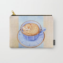 Cat in Coffee Carry-All Pouch