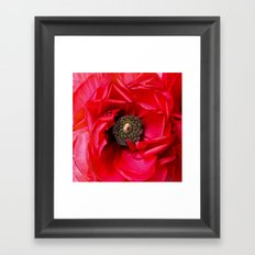 Red Passion Framed Art Print