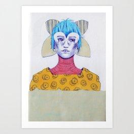 A Traveler 03 Art Print
