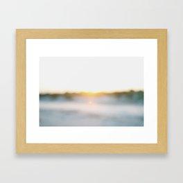 """Dusk at Tybee Island, Georgia"" by Simple Stylings Framed Art Print"