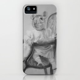 Seen and not heard iPhone Case