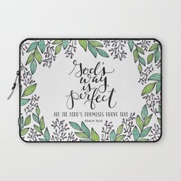 God's Way Is Perfect Laptop Sleeve