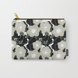 Mysterious Night - Flowers by SewMoni Carry-All Pouch