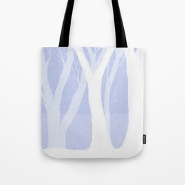 Magical Forest Winter Tote Bag