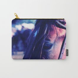 Horse-1-Blues Carry-All Pouch