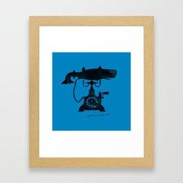 Call Me Ishmael Framed Art Print