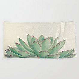 Echeveria Beach Towel